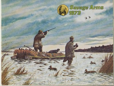 1973 Savage Arms Gun Catalog